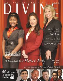 Unison Event Planners LLC featured in DIVINE Magazine