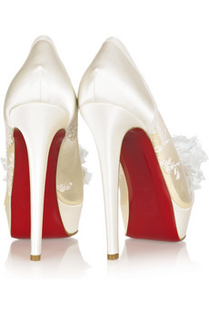 Christian Louboutin Wedding Shoes – The Coordinated Crush
