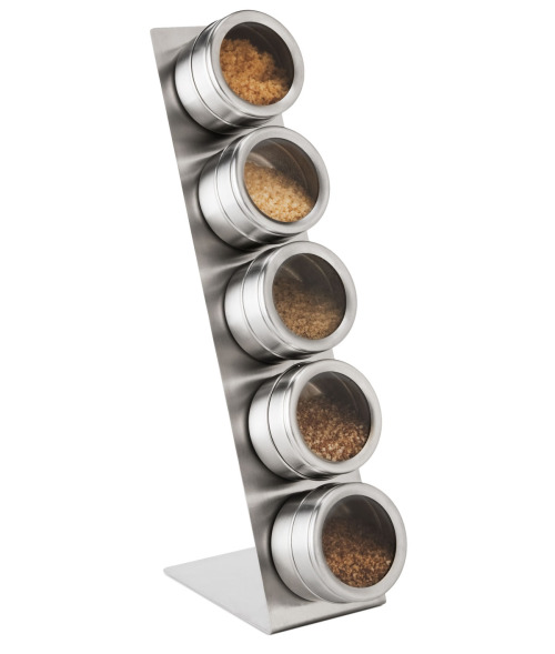 Magnetic Artisan Salt and Spice Rack – The Coordinated Crush
