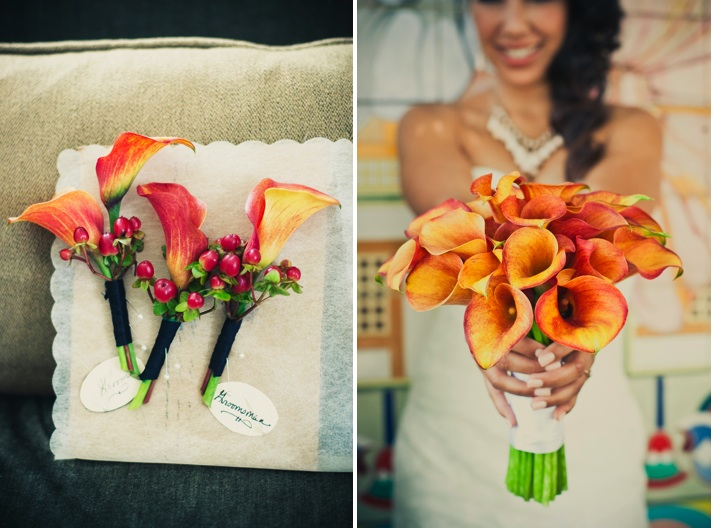 Calla Lilly Bouquet Wedding Inspiration