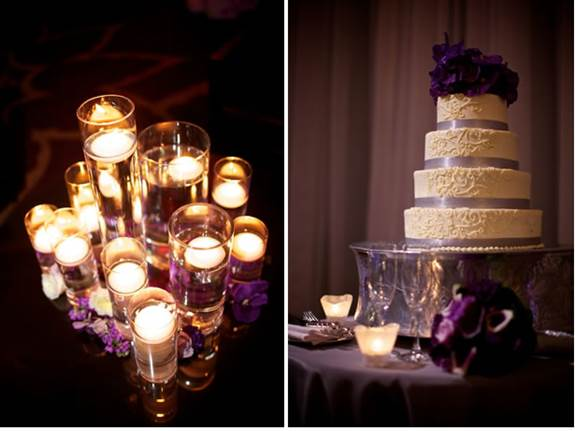 Purple Wine Themed Wedding Inspiration