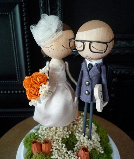 Wedding Cake Topper – Bthanari Etsy