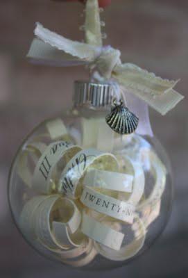 DIY: Wedding Invitation Ornament
