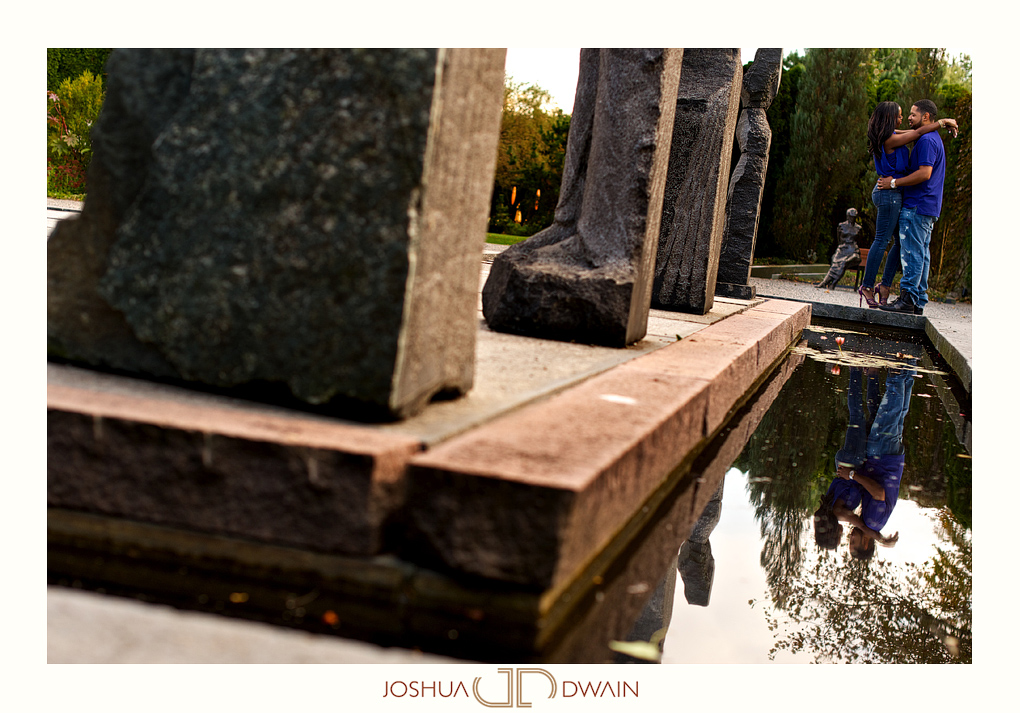 The Grounds For Sculpture – Juliette & Terrance's Engagement Shoot, Joshua Dwain Photography