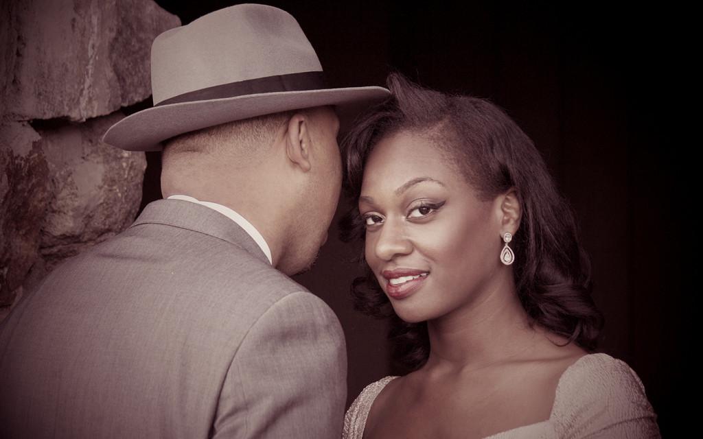 Vintage Engagement Shoot: Thamar and Joe