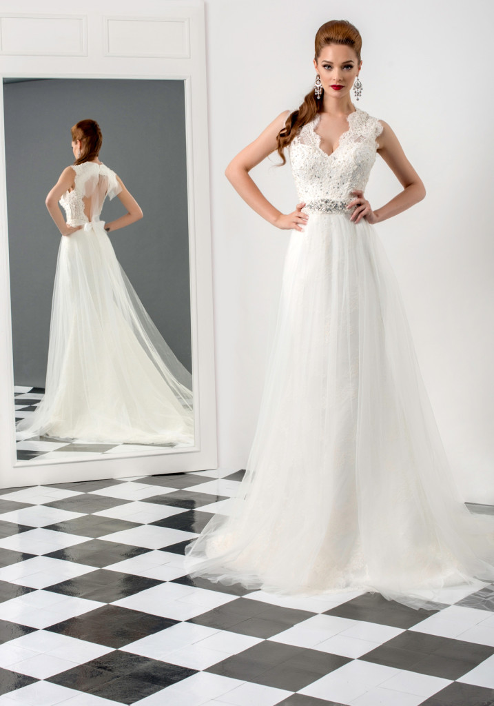 EMERALD+wedding+dress+---Bien-Savvy---2015---bridal---collection-2