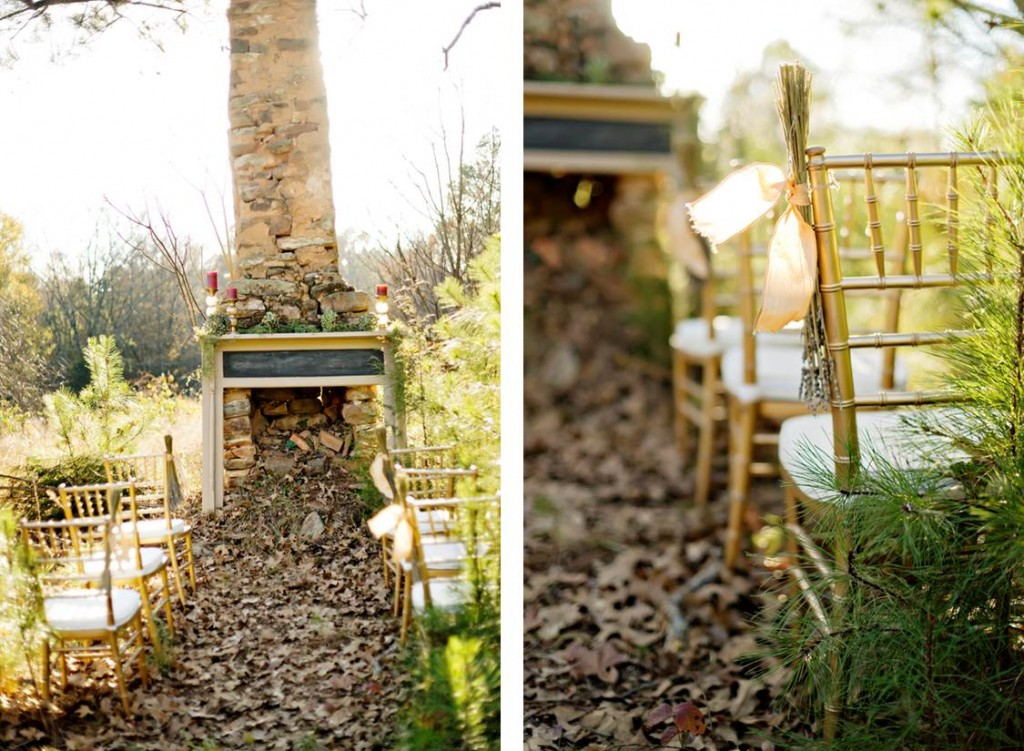 Bohemian Opulence: A Wedding in the Woods, Andie Freeman Photography