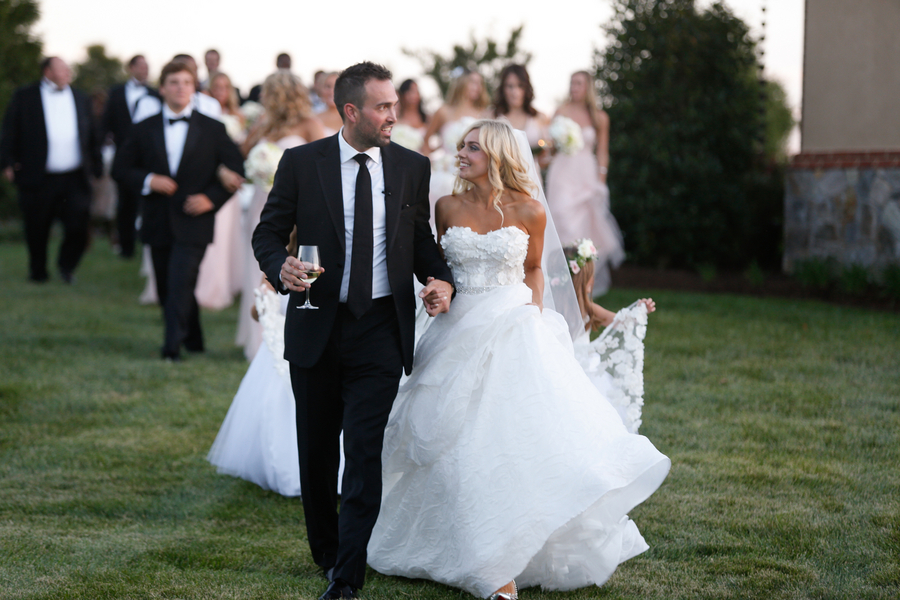 Blush and Champagne Wedding at the Salamander Resort