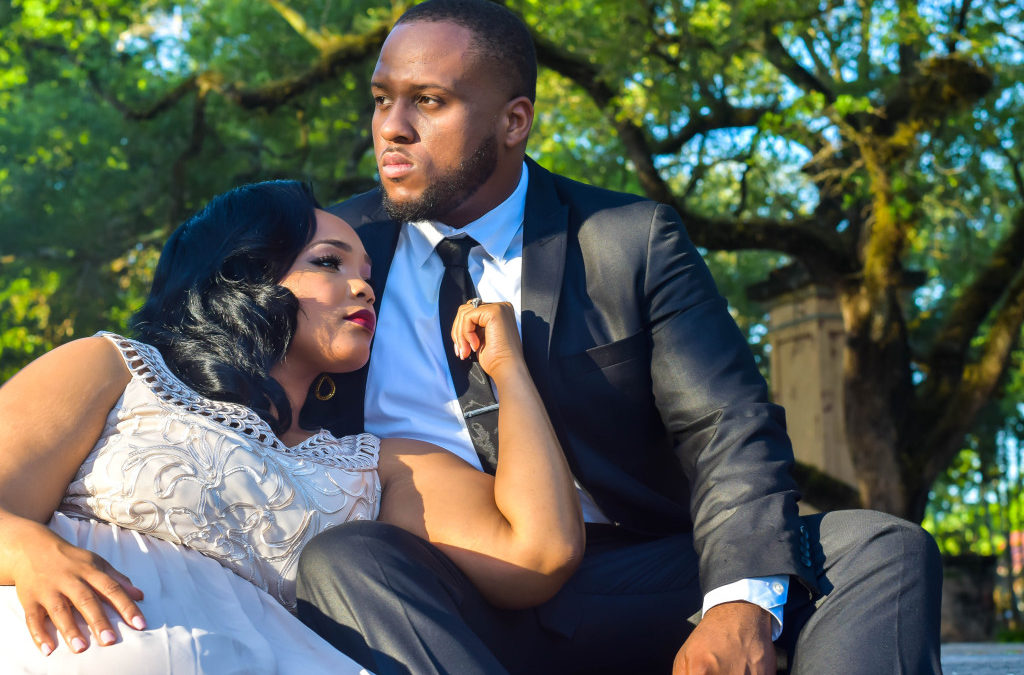 Love and Glam, A Miami Engagement Shoot