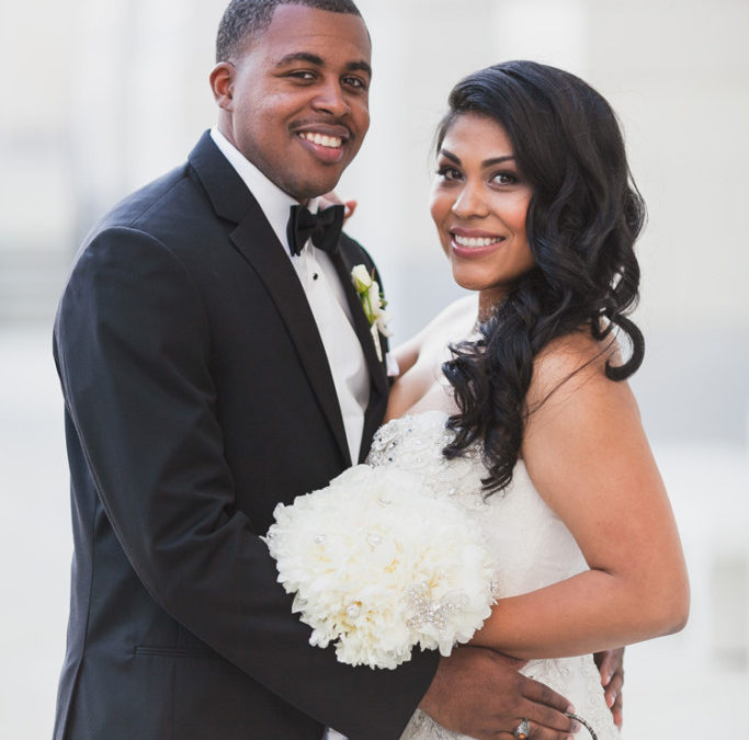 The Key to Love, A Gray and Ivory Mercury Glass California Wedding