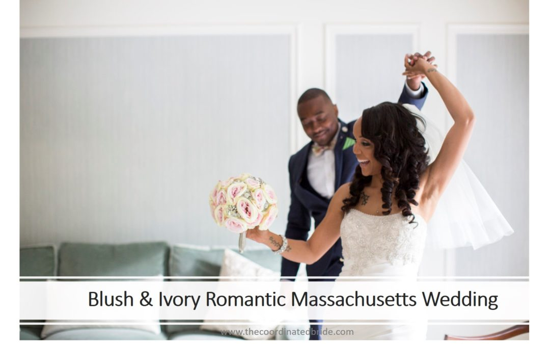Blush and Ivory Romantic Massachusetts Wedding