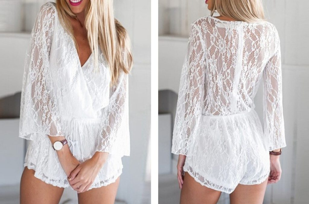 Wedding Day Getting Ready Attire – Rompers under $50