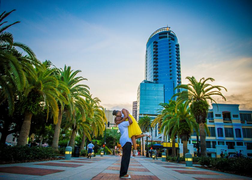 Love at First Sight, A Florida Engagement Shoot