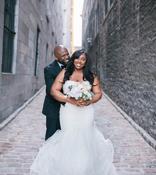 A Romantic and Chic Wedding at the Old Port of Montreal
