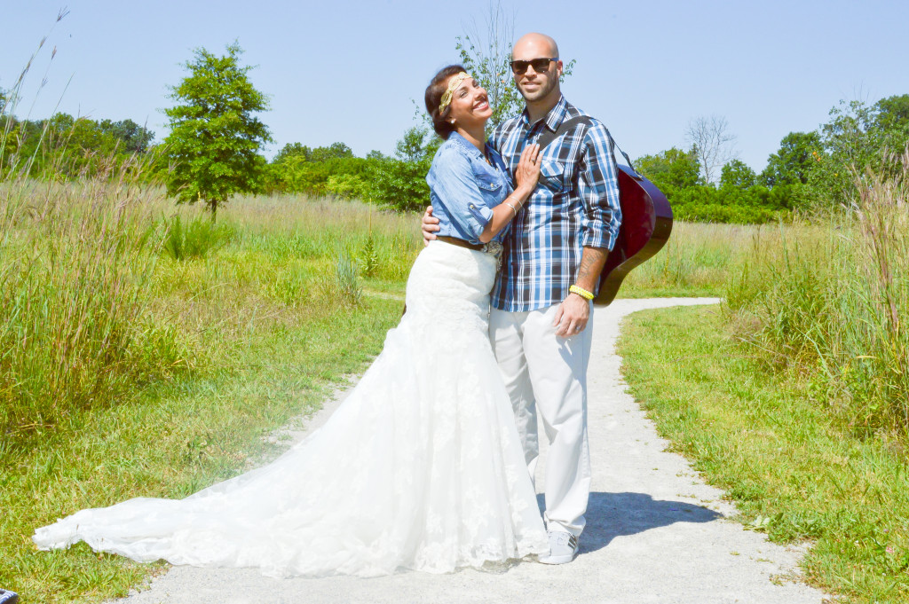 Wedding dress take two u a one year wedding anniversary shoot