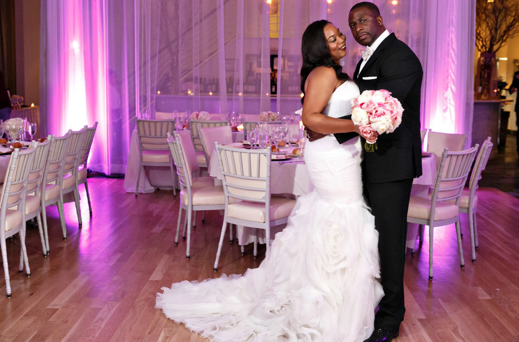 Champagne & Peonies, a Black, Pink & Gold New York City Wedding