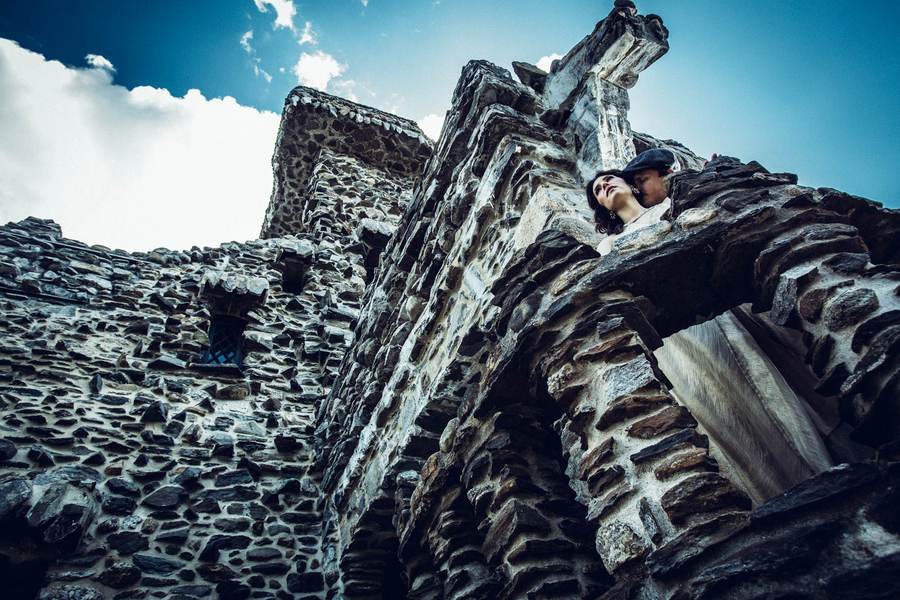 A Medieval Inspired Engagement Shoot