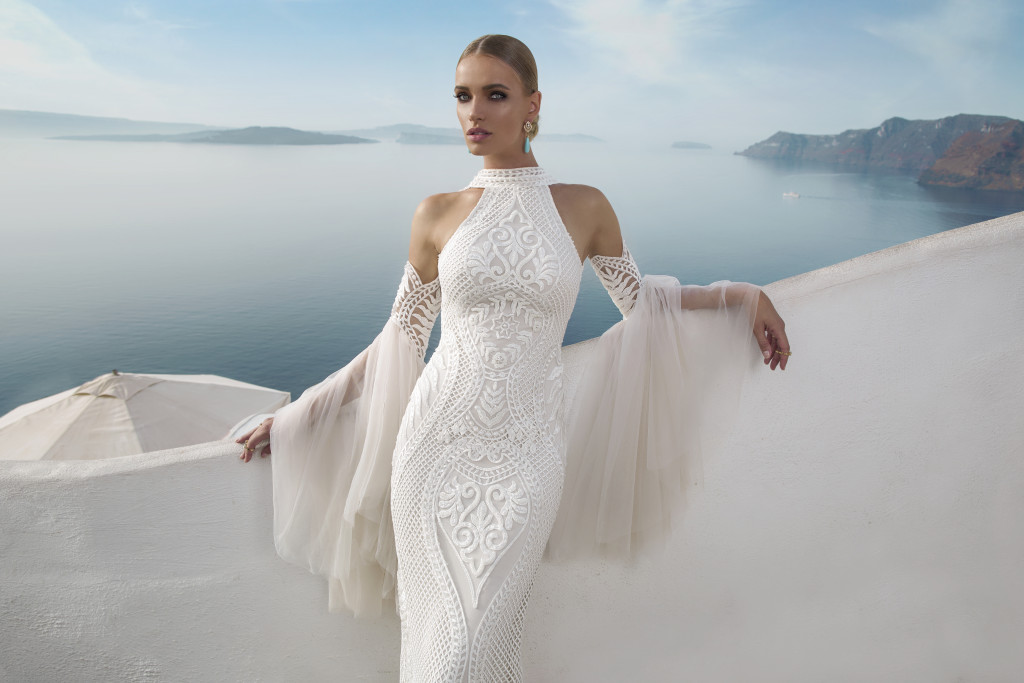 JULIE VINO SANTORINI COLLECTION BRIDAL LOOK BOOK