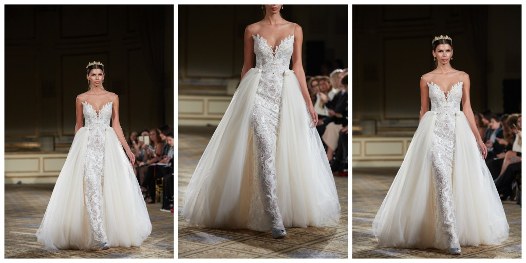 BERTA BRIDAL FALL 2016 RUNWAY SHOW NEW YORK BRIDAL FASHION WEEK