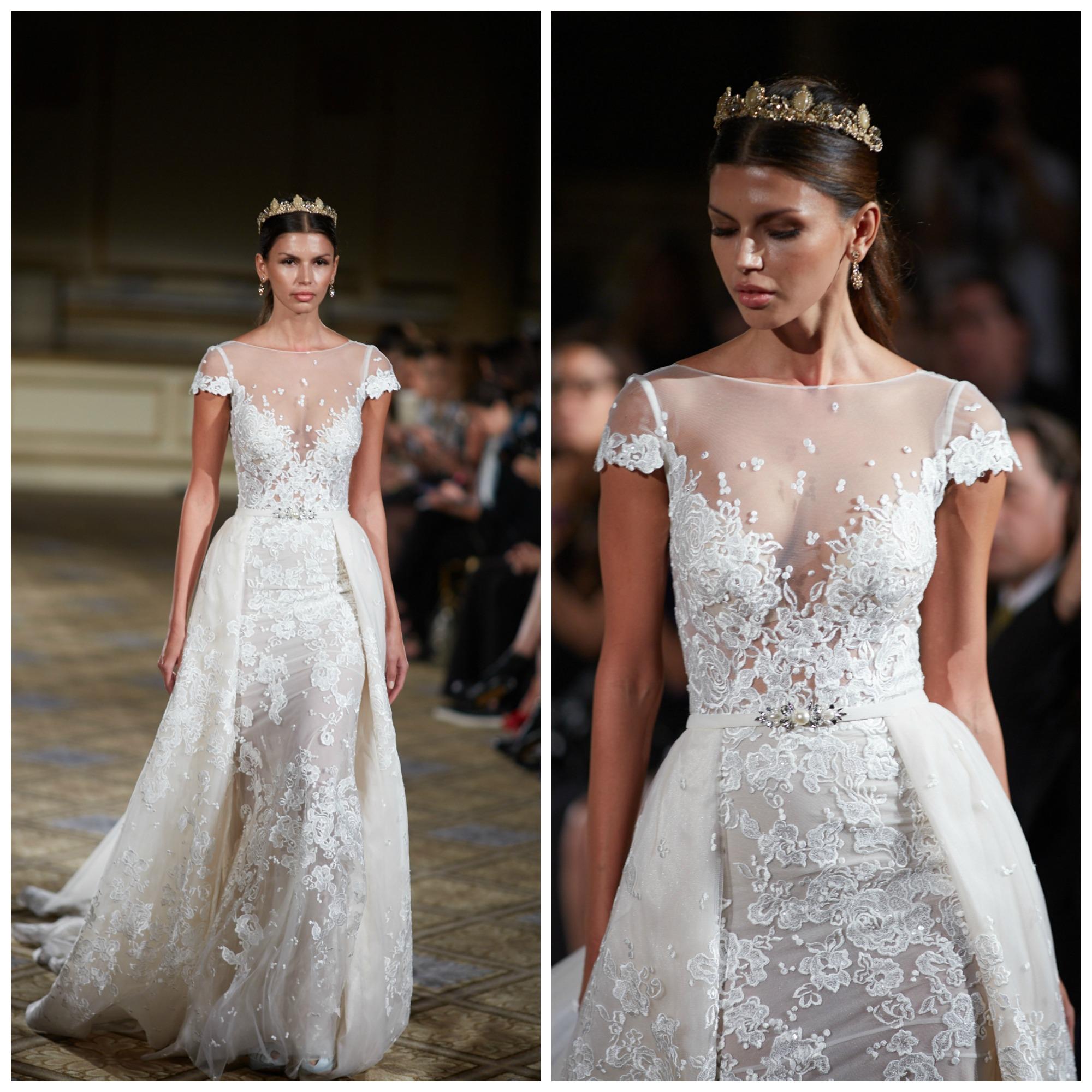 Wedding Gowns In Nyc: BERTA BRIDAL FALL 2016 RUNWAY SHOW NEW YORK BRIDAL FASHION