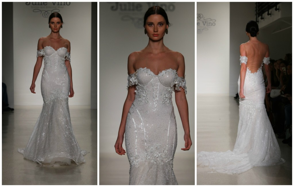 JULIE VINO ALL 2016 RUNWAY SHOW NEW YORK BRIDAL FASHION WEEK