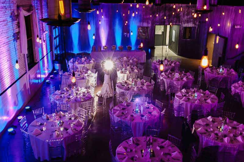 Diy Uplighting For Your Next Event The Coordinated Bride