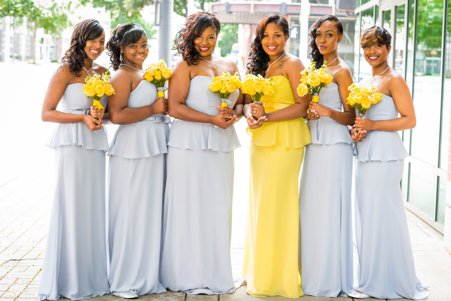 Radiant Canary Yellow Wedding in Alabama