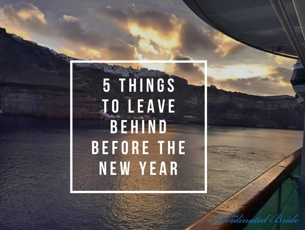 5 Things To Leave Behind in 2015