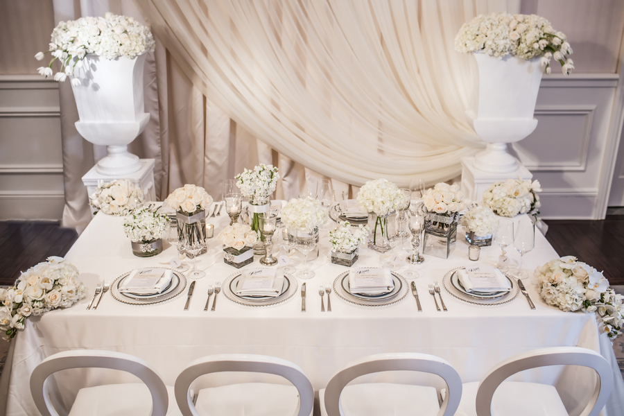 All-White Modern Elegance Styled Shoot