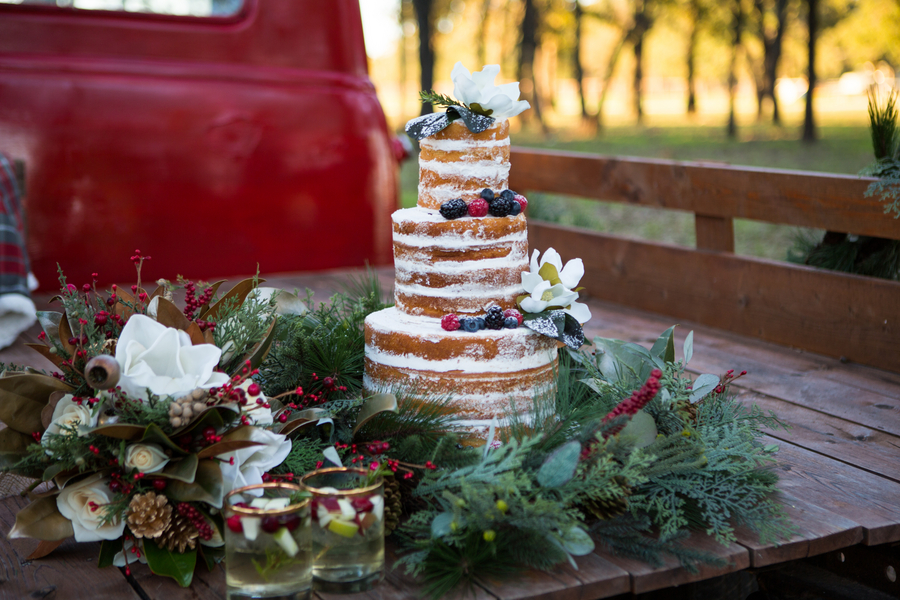 Christmas Wedding Inspiration at Barn Venue