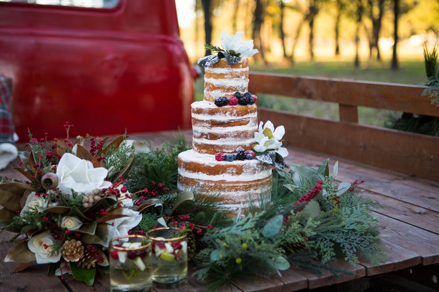 Christmas Wedding Inspiration at Barn Venue
