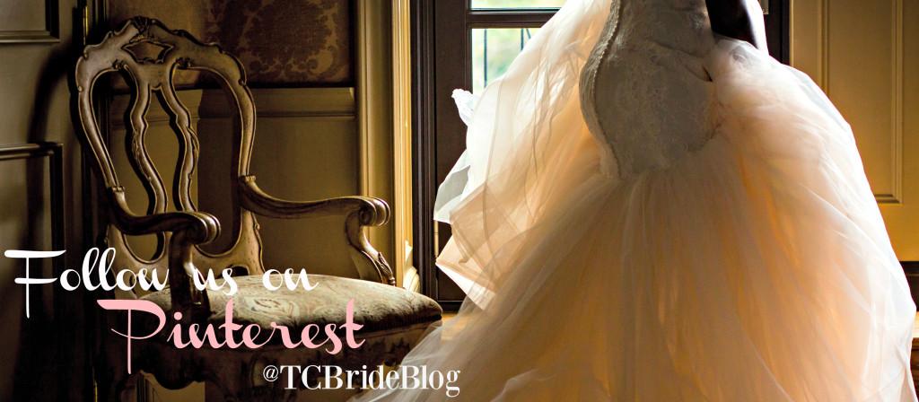 Follow TCBRIDEBLOG on Pinterest