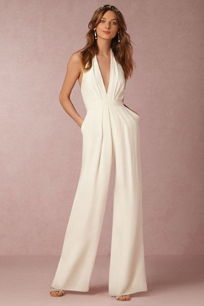 The Coordinated Bride BHLDN Mara Jumpsuit - Front