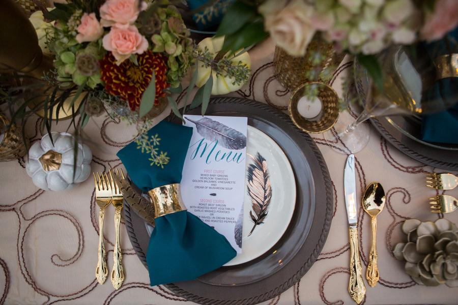 Elegant Texas Fall Wedding Inspired Styled Shoot