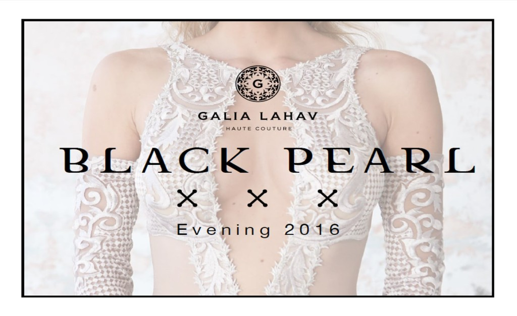 The Coordinated Bride Galia Lahav Black Pearl Evening Wear Collection