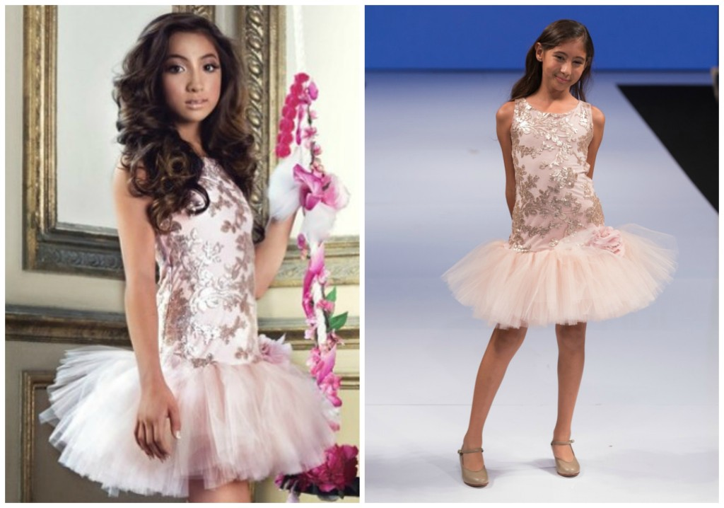 The Coordinated Bride Isabella Couture 1 BLUSH SEQUIN TUTU MAJESTY DRESS Full