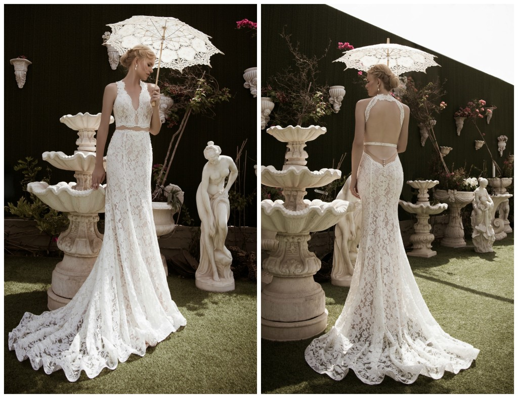 The Coordinated Bride Naama & Anat CHARMING Front and Back