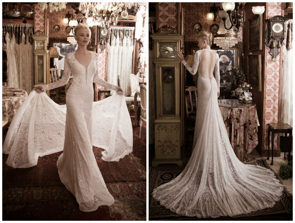 The Coordinated Bride Naama & Anat FABULOUS Front and Back
