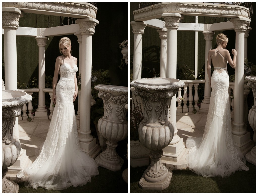 The Coordinated Bride Naama & Anat GLAMOROUS Front and Back