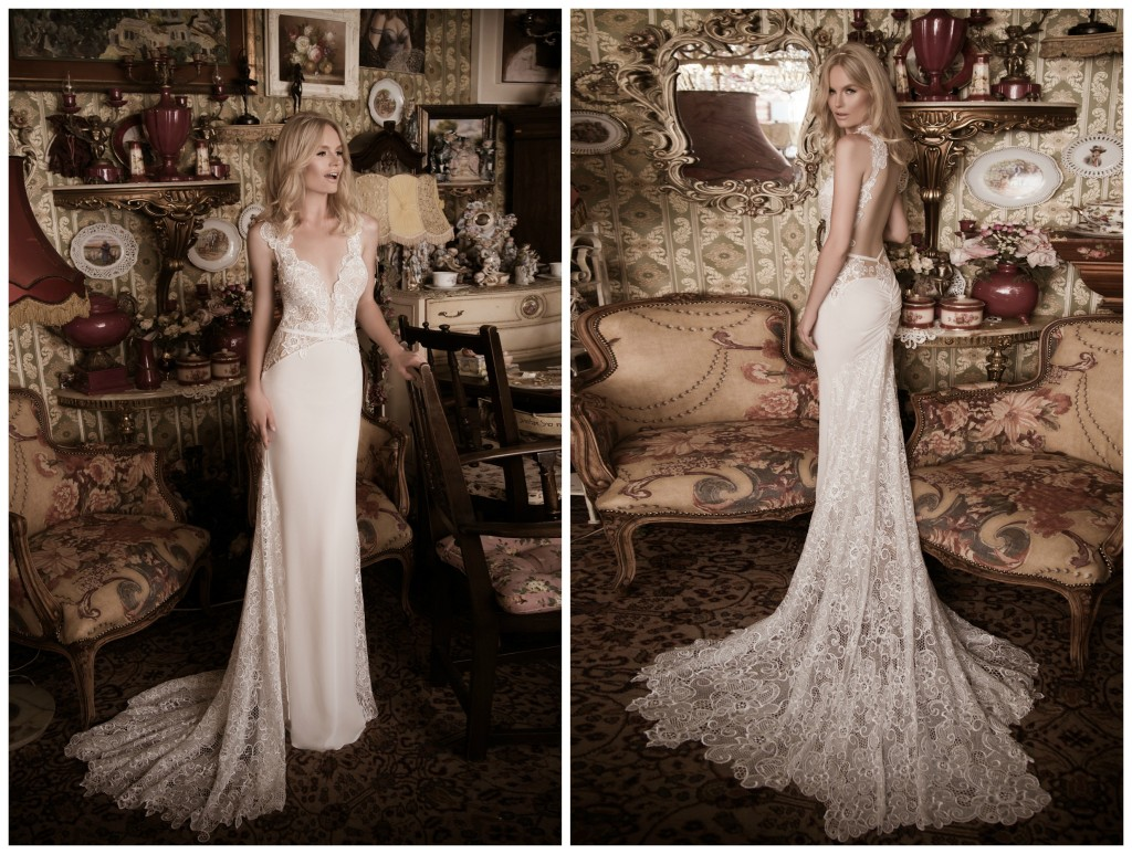 The Coordinated Bride Naama & Anat GORGEOUS Front and Back