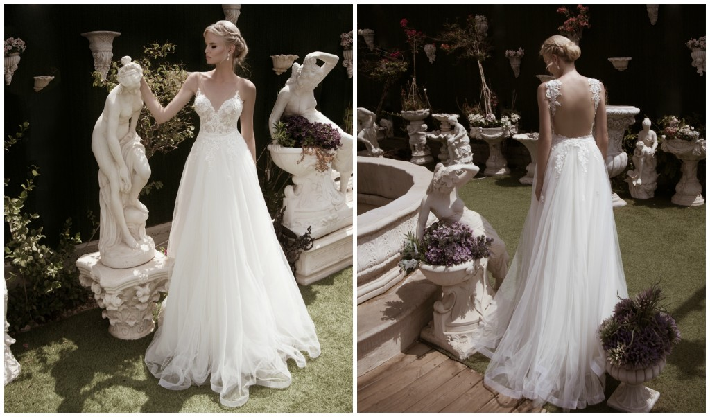 The Coordinated Bride Naama & Anat HARMONY PUFFY SKIRT Front and Back