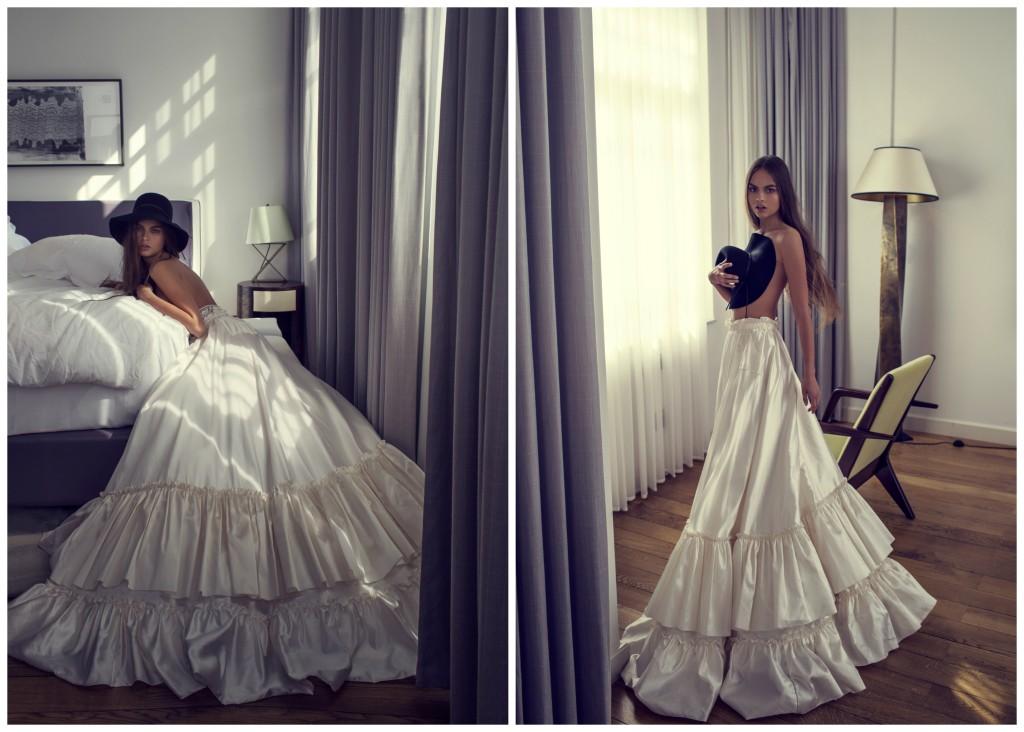 The Coordinated Bride and Zahavit Tshuba Lolita ball skirt