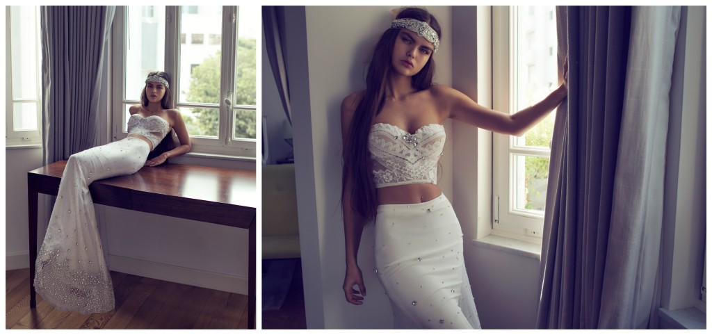 The Coordinated Bride and Zahavit Tshuba Mona top Helena skirt