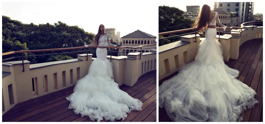 The Coordinated Bride and Zahavit Tshuba Tara skirt + Yael top
