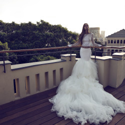 The Coordinated Bride and Zahavit Tshuba Tara skirt_Yael top