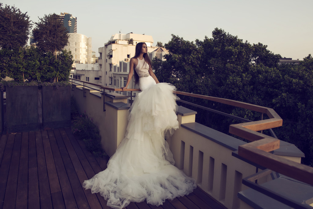 The Coordinated Bride and Zahavit Tshuba Tara two piece