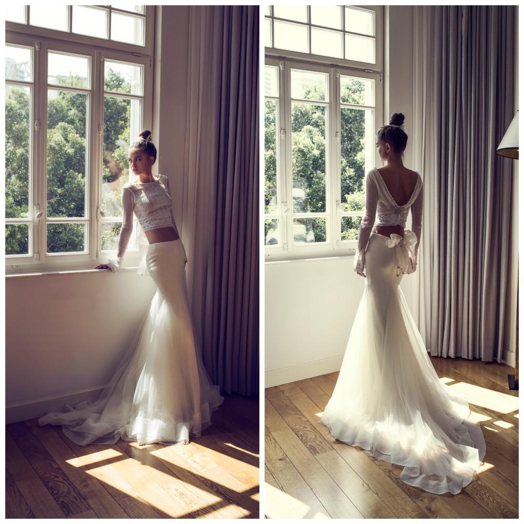The Coordinated Bride and Zahavit Tshuba Yael 2 piece
