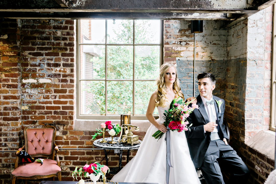 Industrial Glam Kate Spade Inspired Styled Shoot