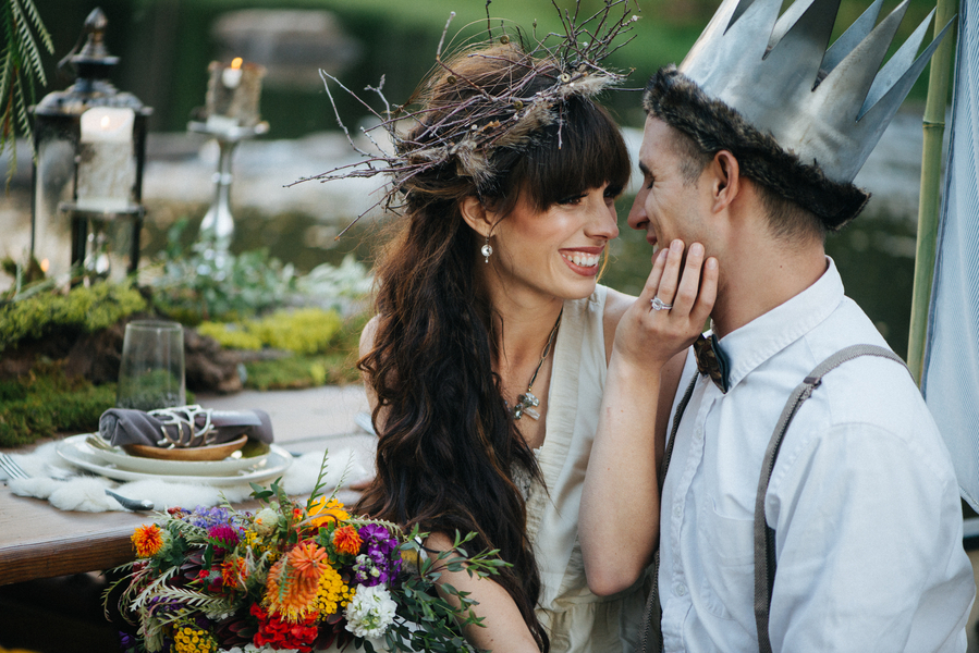 Where the Wild Things Are, A Styled Wedding Session