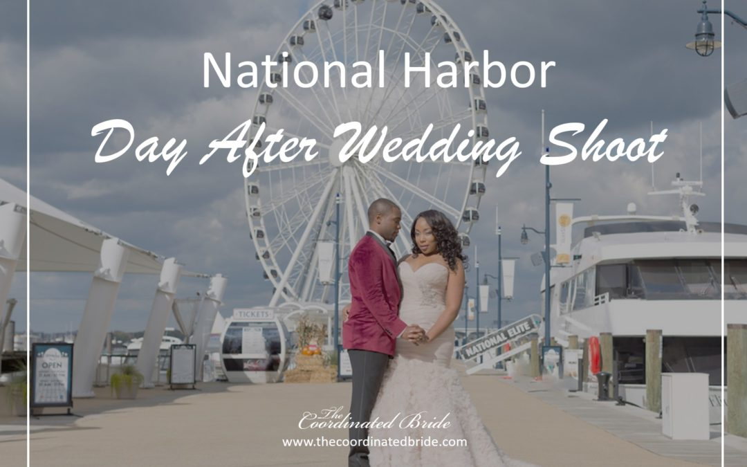 National Harbor Morning After Wedding Shoot